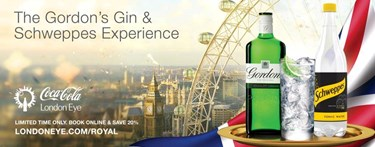 London Eye and Schweppes partnership image