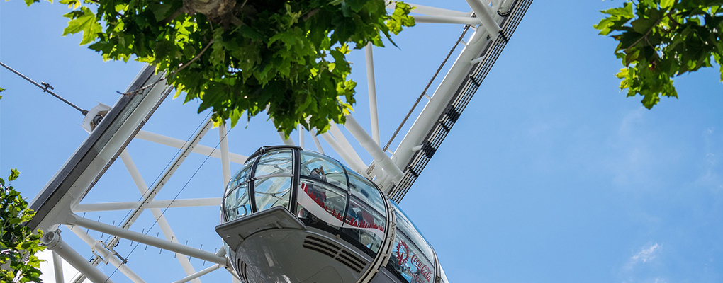 London Eye Capsule From Below
