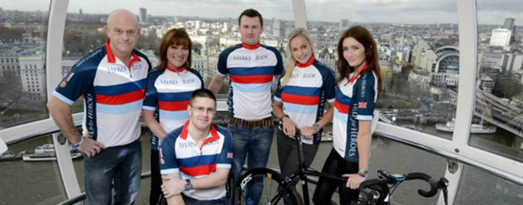 Help for heroes on Lond Eye