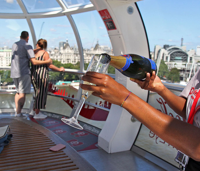 London Eye Champagne In Pod