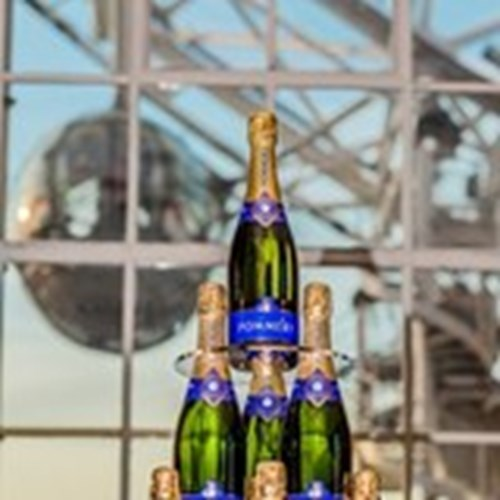 Pommery champagne on London Eye