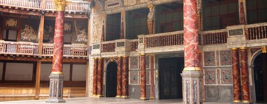 Inside Shakespeare Globe
