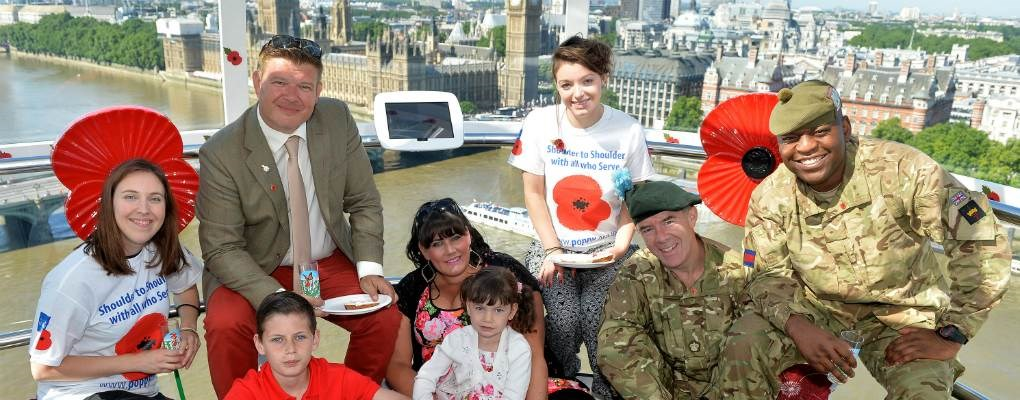 Poppy appeal on London Eye