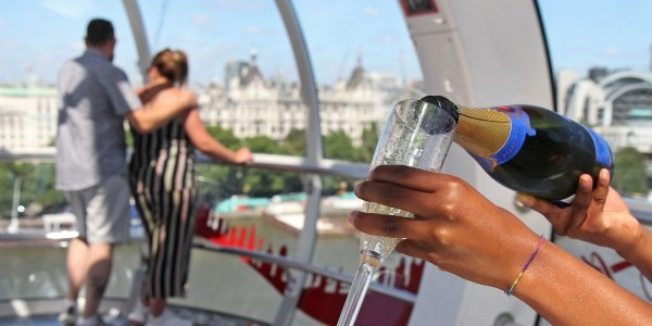 London Eye Champagne Experience In Pod