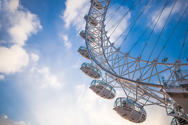 London Eye Capsules Blue Sky