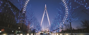 London Eye Christmas Light