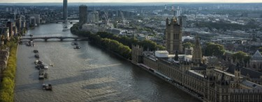 Houses of Parliaments from above