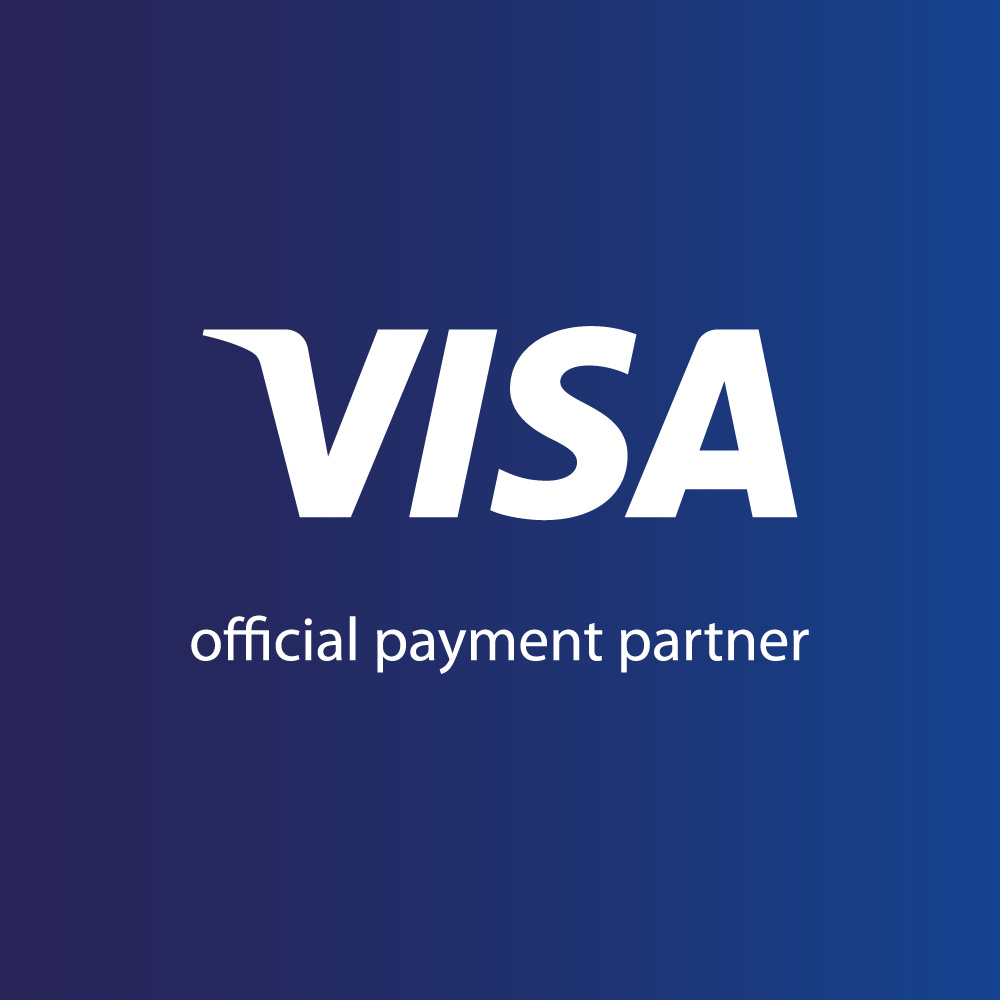 VISA official payment partner